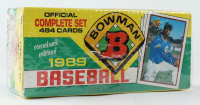 1989 Bowman Comeback Edition Complete Set of (484) Baseball Cards with #220 Ken Griffey Jr. RC at PristineAuction.com