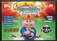 2020 Garbage Pail Kids Chrome Series 3 - 35th Anniversary Blaster Box with (5) Packs at PristineAuction.com