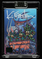 Kevin Eastman Signed 2019 Art of TMNT Green #69 (Sportscard.com Encapsulated) at PristineAuction.com