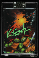 Kevin Eastman Signed 2019 Art of TMNT Orange #40 TMNT Volume 2 Issue 9 (Sportscard.com Encapsulated) at PristineAuction.com