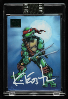Kevin Eastman Signed 2019 Art of TMNT Green #71 (Sportscard.com Encapsulated) at PristineAuction.com