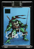 Kevin Eastman Signed 2019 Art of TMNT Green #72 (Sportscard.com Encapsulated) at PristineAuction.com