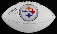 Michael Vick Signed Steelers Logo Football (Beckett COA) at PristineAuction.com