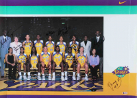 2000 Sparks 19x26.5 Poster Signed By (14) With Lisa Leslie, DeLisha Milton-Jones, Ukari Figgs, La'Keshia Frett, Paige Sauer (Beckett LOA) (See Description) at PristineAuction.com