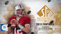 2013 Upper Deck SP Authentic Hobby Box with (24) Packs at PristineAuction.com