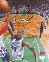 Paul Pierce Signed Celtics 8x10 Photo (Pierce COA & JSA SOA) at PristineAuction.com