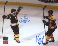 Brad Marchand & Dennis Seidenberg Signed Bruins 8x10 Photo (Marchand COA & Seidenberg COA) at PristineAuction.com