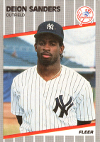 1989 Fleer Update Complete Set of (132) Baseball Cards with #53 Deion Sanders RC, #59 Randy Johnson, & #67 Nolan Ryan at PristineAuction.com