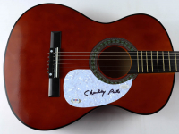 "Charley Pride Signed 38"" Acoustic Guitar (PSA COA & JSA COA) at PristineAuction.com"