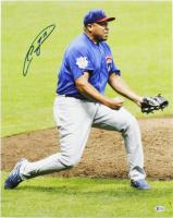 Carlos Zambrano Signed Cubs 16x20 Photo (Beckett COA) at PristineAuction.com