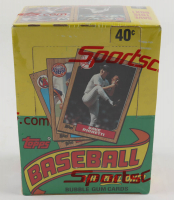 1987 Topps Baseball Wax Box with (36) Packs (See Description) at PristineAuction.com