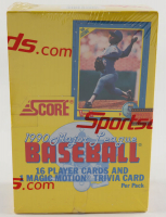 1990 Score Baseball Box with (36) Packs (See Description) at PristineAuction.com