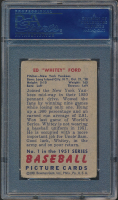 Whitey Ford Signed 1951 Bowman #1 RC (PSA Encapsulated) at PristineAuction.com