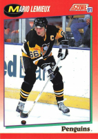 1991-92 Score Hockey Complete Set of (440) Cards at PristineAuction.com
