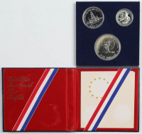 1976 United States Bicentennial Silver Proof Set with (3) Coins at PristineAuction.com
