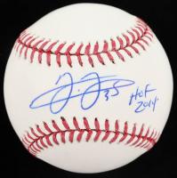 "Frank Thomas Signed OML Baseball Inscribed ""HOF 2014"" (JSA COA) at PristineAuction.com"