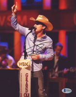 Dustin Lynch Signed 8x10 Photo (Beckett COA) at PristineAuction.com