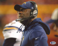 Anthony Lynn Signed Chargers 8x10 Photo (Beckett COA) at PristineAuction.com