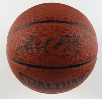 Kobe Bryant Signed NBA Basketball (PSA Hologram & Beckett LOA) at PristineAuction.com