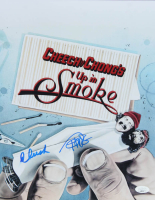 "Cheech Marin & Tommy Chong Signed ""Up In Smoke"" 11x14 Movie Poster Print (JSA COA) at PristineAuction.com"