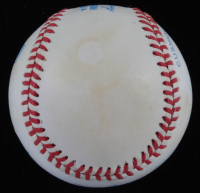 Mickey Mantle Signed OAL Baseball with Yankees 1961 Champions Display Case (PSA Hologram) (See Description) at PristineAuction.com