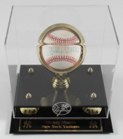 Mickey Mantle Signed OAL Baseball with Yankees Display Case (Fanatics Hologram) (See Description) at PristineAuction.com