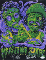 "Cheech Marin & Tommy Chong Signed ""Marijuana Zombie"" 11x14 Photo (JSA COA) at PristineAuction.com"