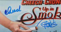 """Cheech Marin & Tommy Chong Signed """"Up In Smoke"""" 11x14 Movie Poster Print (JSA COA) at PristineAuction.com"""