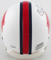 O. J. Simpson Signed Bills Throwback Mini Helmet (JSA COA) at PristineAuction.com