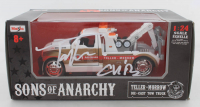 """Tommy Flanagan Signed """"Sons of Anarchy"""" 1:24 Die-Cast Tow Truck Inscribed """"Chibs"""" (Radtke COA) at PristineAuction.com"""