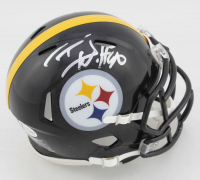 T. J. Watt Signed Steelers Speed Mini Helmet (Beckett COA) at PristineAuction.com