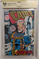"Art Thibert Signed 1993 ""Cable"" Issue #1 Marvel Comic Book (CBCS Encapsulated - 9.6) at PristineAuction.com"