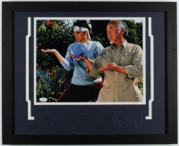 "Ralph Macchio Signed ""The Karate Kid"" 18x22 Custom Framed Photo Display (JSA COA) at PristineAuction.com"
