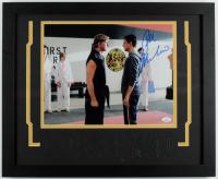 "Ralph Macchio Signed ""Cobra Kai"" 18x22 Custom Framed Photo Display (JSA COA) at PristineAuction.com"