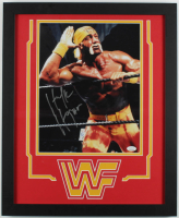 Hulk Hogan Signed WWE 18x22 Custom Framed Photo Display (JSA Hologram) at PristineAuction.com