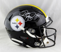 Jerome Bettis Signed Steelers Full-Size Authentic On-Field SpeedFlex Helmet (Beckett COA) at PristineAuction.com