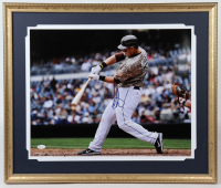 Anthony Rizzo Signed Padres 22x26 Custom Framed Photo Display (JSA Hologram) at PristineAuction.com