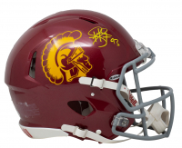 Troy Polamalu Signed USC Trojans Full-Size Authentic On-Field Speed Helmet (Beckett COA) at PristineAuction.com