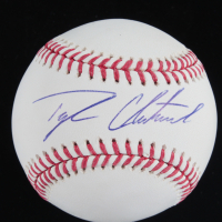 Tyler Chatwood Signed OML Baseball (Beckett COA) at PristineAuction.com