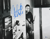 """Nick Castle Signed """"Halloween"""" 11x14 Photo Inscribed """"The Shape"""" (Beckett COA) at PristineAuction.com"""