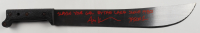 """Ari Lehman Signed """"Friday the 13th"""" Steel Machete Inscribed """"Slayin Your Gal by the Lake Since 1980!"""" & """"Jason 1"""" (JSA COA) at PristineAuction.com"""