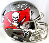 "Warren Sapp Signed Buccaneers Full-Size Authentic On-Field SpeedFlex Helmet Inscribed ""HOF 13"" (Beckett COA) at PristineAuction.com"