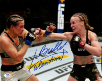"Valentina Shevchenko Signed UFC 11x14 Photo Inscribed ""Bullet"" (PSA COA) at PristineAuction.com"