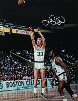 Larry Bird Signed Celtics 16x20 Photo (Beckett COA) at PristineAuction.com