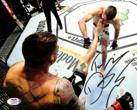 Dustin Poirier Signed UFC 8x10 Photo (PSA COA) at PristineAuction.com