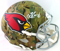 Kyler Murray Signed Cardinals Full-Size Authentic On-Field Camo Alternate Speed Helmet (Beckett COA) at PristineAuction.com