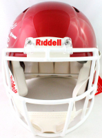 Oklahoma Sooners Full-Size Authentic On-Field Speed Helmet Signed by (6) With Kyler Murray, Baker Mayfield, Sam Bradford, Jason White With Multiple Inscriptions (Beckett COA) at PristineAuction.com