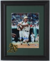 Reggie Jackson Signed Athletics 13x16 Custom Framed Photo Display (Beckett COA) at PristineAuction.com