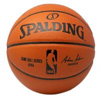 Kobe Bryant Signed NBA Game Ball Series Basketball (Panini Hologram) at PristineAuction.com