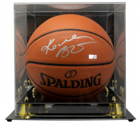 Kobe Bryant Signed NBA Game Ball Series Basketball with Display Case (Panini COA) at PristineAuction.com